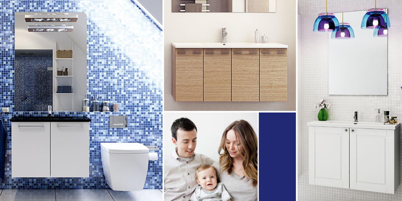 7 vinkkiä pienen kylpyhuoneen sisustamiseen